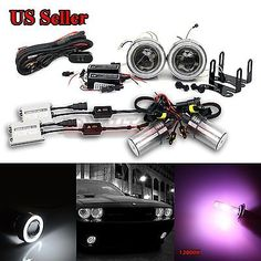 "For vw usa 3"" projector fog #lights+white ccfl #angel #eye+55w slim 12000k hid ki,  View more on the LINK: 	http://www.zeppy.io/product/gb/2/122101261146/"