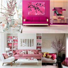 Pink decor #prettyinpink