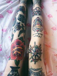 200 Tatuajes en las Rodillas para chicos y chicas