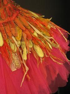 """PamelaAngus: Tutus do vintage do The Royal Opera House Colecção - Tutu usado por Margot Fonteyn como The Firebird em Wells Ballet produção da Sadler de """"o Firebird"""" (1954)"""