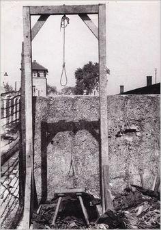 Mauthausen Gallows German Killing Camp