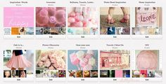 Theme Your Pinterest Boards- Pink!