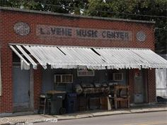Red's Blues Club in Clarksdale, Mississippi, one of the surviving juke joints in the Delta. Can't tell you how many times I sat outside this store (LaVENE MUSIC CENTER) while my older brother went inside and purchased drumsticks and the like.