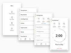 Fltrr Mobile Interface by Matthew Famularo