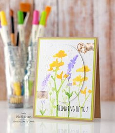 Weekender with Wanda – Tim Holtz Wildflowers!