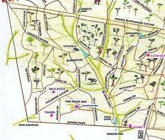 Map of roads on Djuma Game Reserve South Africa, South Africa Map, Live Map, Animal Habitats, Wild Dogs, Wanderlust Travel, Safari, Wildlife, Clip Art