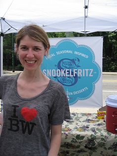 Nancy Silver, Snookelfritz Ice Cream, Museum of Contemporary Art Farmers Market, Chicago