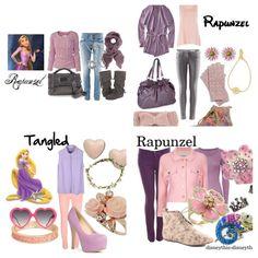 rapunzel disneybound ideas - Google Search