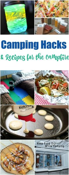 Camping Hacks And Recipes For The Campfire Easy On Grill Skillet