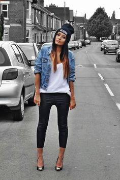 0b9f7253f5c fb8aecaab7526fafc869ed3d749b5375.jpg (500×750) Hip Hop Outfit Girl