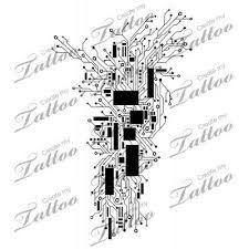 Resultado de imagem para circuit tree tattoo