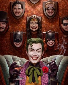 Besides my puddin', who is your favorite character depicted here? *cough cough* Still available at his store: anthonymisiano.storenvy.com *cough cough* #harleysjoker #anthonymisiano #batmanvillain #clown #classicjoker #wonderwomancosplay #cosplay #cosplayphotography #wonderwoman #robin #batgirl #thejoker #superman #supermancosplay