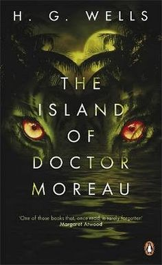 The Island of Doctor Moreau.really creepy book. Wells was an amazing writer, I will be making a point to read more of his work. Wells, Galaxy Express, Horror Fiction, Penguin Classics, Classic Books, Horror Stories, Horror Books, So Little Time, Book Recommendations