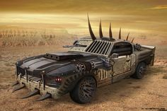 Pin by andrew ricklefs on end of the world post apocalyptic, death race, ap Mustang, Arcee Transformers, Monster Trucks, Chihiro Y Haku, Apocalypse Art, Death Race, Mad Max Fury Road, Gt500, Ford Bronco