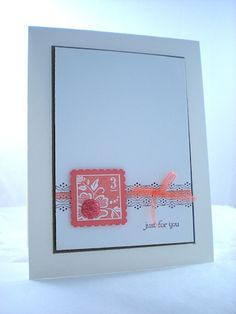 """SU """"Fresh Vintage"""" and """"Teeny Tiny Wishes""""  Stampin Up - how simple and clean"""