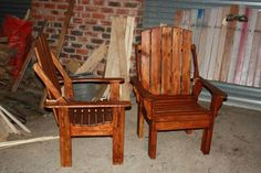 I made these chairs using discarded pallet wood, waterproof wood glue and screws. I finished it in an outdoor water base finish to use it outdoors. It took six hours to complete, excluding the finishing process. The hardest part was…