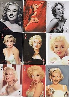 Deck of Marilyn Monroe playing cards. My husband had this deck, a friend gave them to him. Marilyn Monroe Artwork, Norma Jean Marilyn Monroe, Viejo Hollywood, Old Hollywood Style, Patrick Willis, Cinema Tv, Actrices Hollywood, Norma Jeane, Pretty Woman
