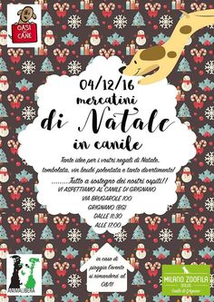 Mercatino di Natale in Canile a Grignano: regalini, cagnolini, spuntini per una giornatona di festa coi quattro zampe :http://www.qualazampa.news/event/mercatino-di-natale-in-canile-a-grignano-regalini-cagnolini-spuntini-per-una-giornatona-di-festa-coi-quattro-zampe/