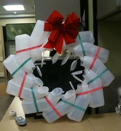 Hospital Christmas Wreath