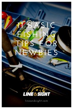 11 BASIC FISHING TIPS FOR NEWBIES Learning to fish can be a large undertaking, but with these basic tips your first days on the water should be enjoyable and productive. Fishing Kit, Bass Fishing Tips, Fishing Guide, Gone Fishing, Best Fishing, Trout Fishing, Fishing Lures, Fishing Tackle, Fishing Basics