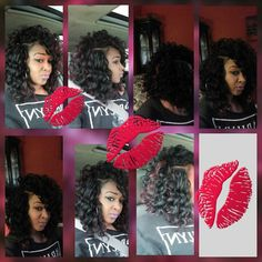 "RIPPLE DEEP CROCHET BRAIDS ""SEXY BOB"" Go to Facebook page  LadyDiva of Styles"