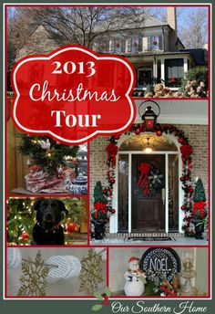 Christmas Home Tour {Downstairs} - Our Southern Home