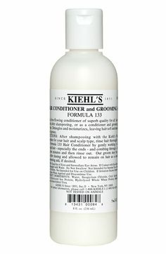 Kiehl's Since 1851 Hair Conditioner Grooming Aid Formula 133 available at #Nordstrom
