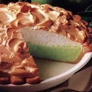 Irish Key Lime Meringue Pie.