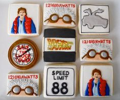 Brilliant Back to the Future Cookies