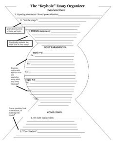 001 Graphic Organizer for a Compare/Contrast Essay English