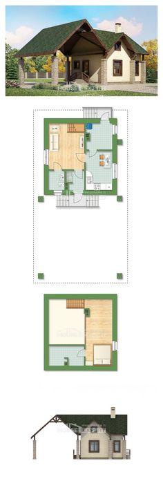 Ev villa projesi 060-001-L | House Expert