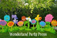 A Very Merry Un-Birthday in Wonderland | Talking Flowers       CatchMyParty.com