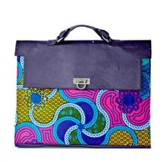 African Print Bag ~ The Otera Bag from Zabba Designs African Clothing Store