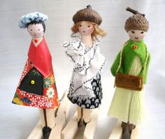 The new year started well, unexpectedly with music and dance and much laughter . - Will ich machen - Lol dolls Clothes Pegs, Doll Clothes, Barbara Streisand, Clothespin Art, Dolly Doll, Wood Peg Dolls, Ideas Geniales, Tiny Dolls, Little Doll