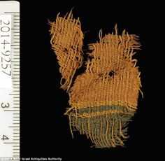 Three-thousand-year-old textiles have been uncovered by an excavation team in Arava Valley, Israel. Archaeologists from Tel Aviv University found the texti