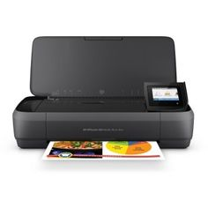HP Officejet 250 Mobile All-in-One - Multifunction printer - colour - ink-jet - Legal x 356 mm) (original) - (media) - up to 18 ppm (copying) - up to 20 ppm (printing) - 50 sheets - USB USB host, Wi-Fi buy at discounted prices. Hp Printer, Photo Printer, Printer Scanner, Inkjet Printer, Printer Paper, Best Portable Printer, Mobiles, Drucker Scanner, Shopping