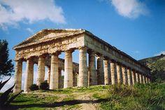 The Greek Temple of Segesta-Sicily