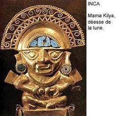 Mama Kilya , déesse inca de la lune
