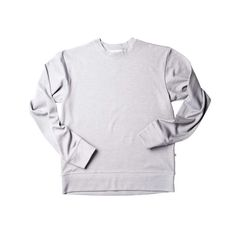 Locally Grown Clothing Co.- Men's Fields Crew  - Merino + Cotton Collection #madeinusa