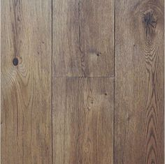 Wide Plank Engineered Wire Brushed Cognac White Oak Hardwood Floor