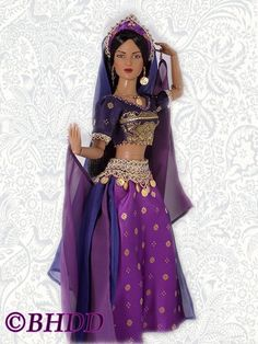 Black Hills Doll Designs Gallery. Middle Eastern Inspired