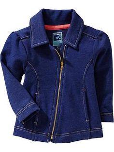 Terry-Fleece Moto Jackets for Baby   Old Navy  Трикотажный жакет. Хлопок 58% полиэстер 38% спандекс 4%