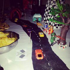 Deco de table thème voiture