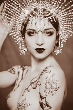 The International London Tattoo Convention | Main Stage | Burlesque | Sword Swallowing | Fuel Girls | Elegy Ellem | Lucky Hell