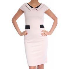 Rochie office pana la genunchi cu maneci scurte Peplum Dress, Dresses For Work, Casual, Fashion, Moda, Fashion Styles, Peplum Dresses, Fasion, Peplum Outfit