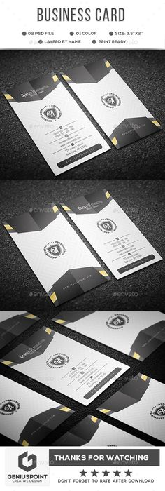 #Business Card - #Business Cards #Print Templates