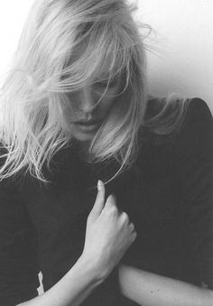 Filippa K- hair Franck Provost, Gorgeous Hair, Beautiful, Sensual, Pretty Hairstyles, Black And White Photography, Hair Inspiration, My Hair, Portrait Photography