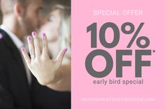 Modern Bride Wedding Show hosts to top wedding professionals looking to provide engaged couples with the essential tools so they can plan their wedding day. Bridal Show, Wedding Show, Wedding Bride, Wedding Day, 10 Off, Early Bird, Engagement Couple, How To Plan, Pi Day Wedding