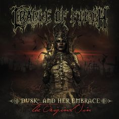Cradle Of Filth - Dusk. And Her Embrace - The Original Sin (Full Album) Black Metal, Heavy Metal, Cradle Of Filth, Music Covers, Album Covers, Avatar, Dani Filth, Wall Of Sound, Bands