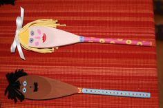 More wooden spoon puppets!